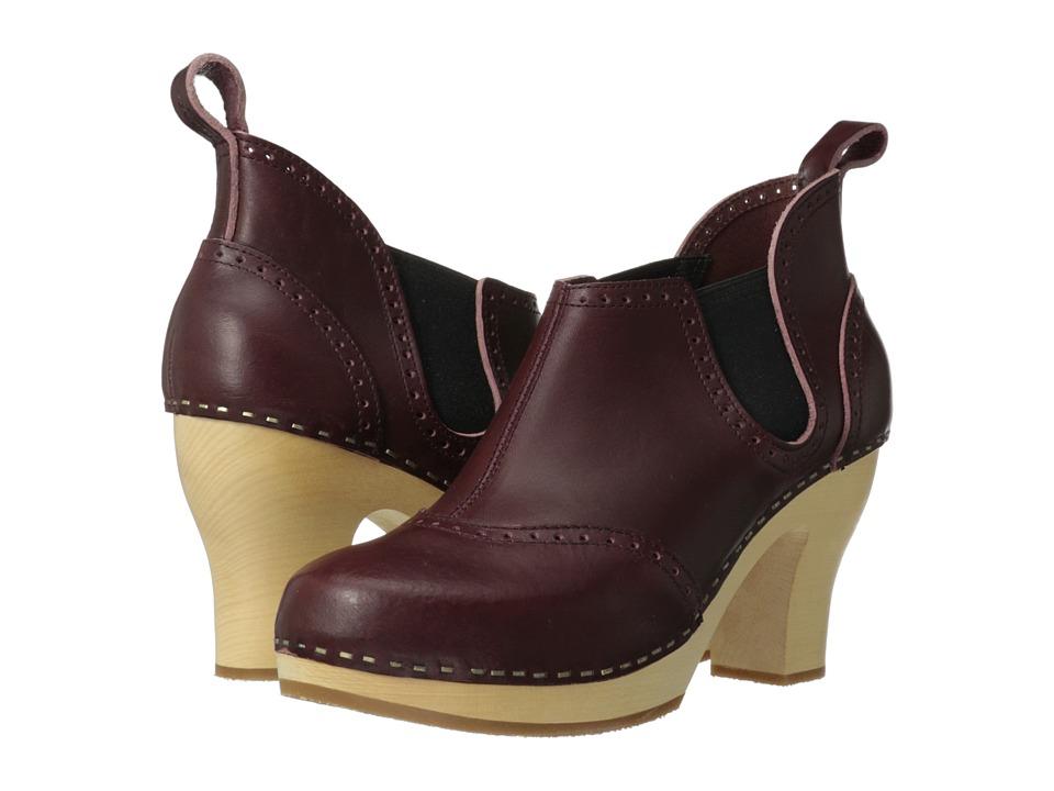 Swedish Hasbeens - Stretch It Inma (Bordeaux) High Heels