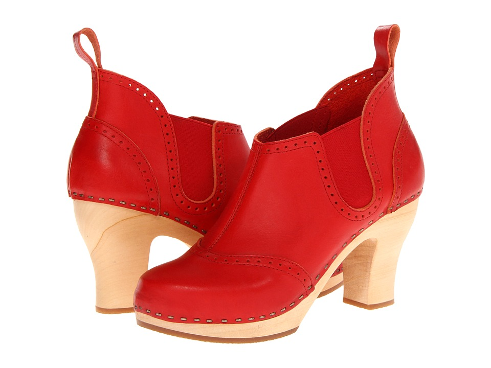 Swedish Hasbeens - Stretch It Inma (Red) High Heels