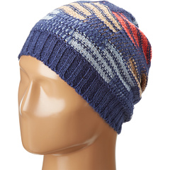 SALE! $9.99 - Save $12 on BCBGeneration Ripple Stitch Color Block Slouch Hat (Blue Suede Shoes) Hats - 54.59% OFF $22.00