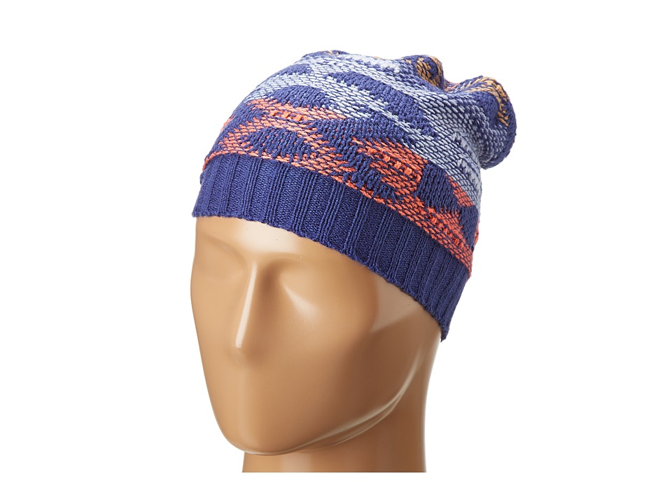 BCBGeneration - City Hopper Slouch Hat (Blue Suede Shoes) Caps