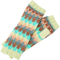 SALE! $14.99 - Save $13 on BCBGeneration Geek Chic Fingerless Gloves (Sheer Seafoam) Accessories - 46.46% OFF $28.00