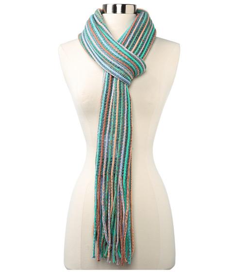 BCBGeneration - Super Stripe Neckwrap (Mint Blossom) Scarves