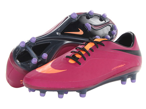 Nike - Hypervenom Phatal FG (Bright Magenta/Black/Atomic Violet/Atomic Orange) Women