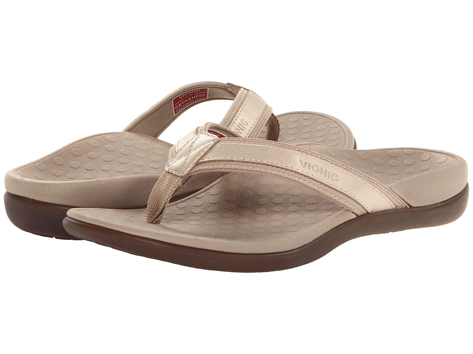 VIONIC - Tide II (Gold Metallic) Women's Sandals