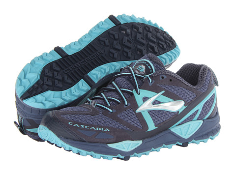 Brooks - Cascadia 9 (Vintage Indigo/Midnight/Marine Blue) Women's Running Shoes