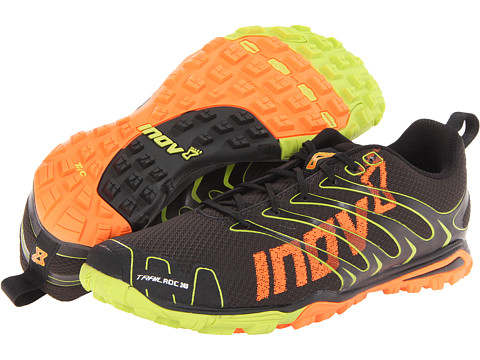 inov-8 - Trailroc 245 (Black/Lime/Orange) Men's Shoes