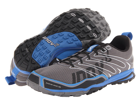 inov-8 - TrailRoc 255 Mens (Grey/Blue) Men's Running Shoes