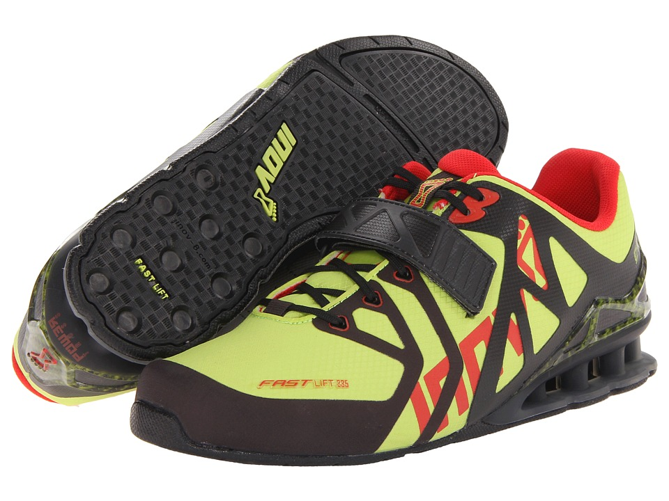 inov-8 - FastLift 335 (Lime/Black/Red) Men's Running Shoes