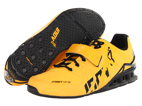inov-8 - FastLift 335 (Yellow/Black) Men's Running Shoes