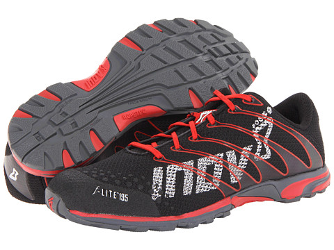 inov-8 - F-Lite 195 W/RopeTec (Black/Red) Running Shoes