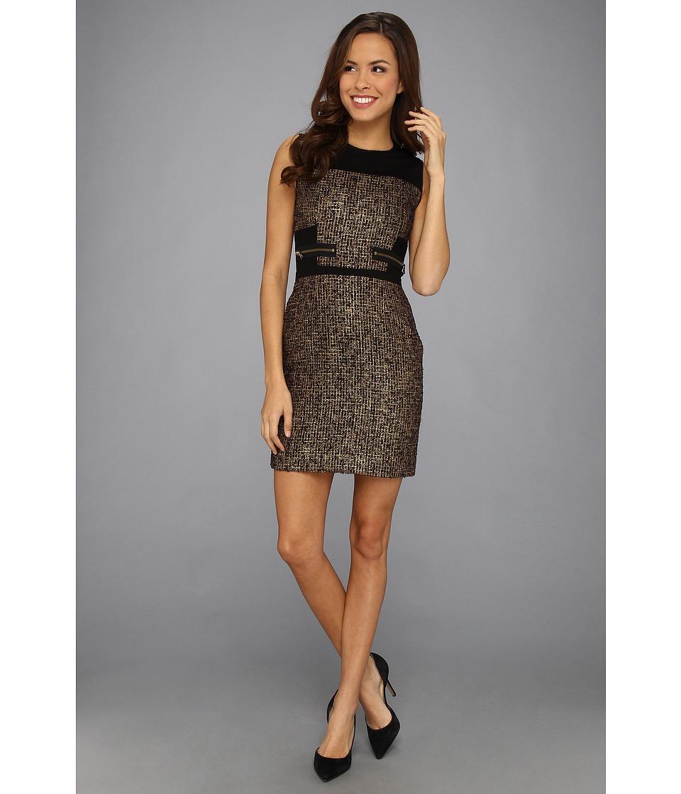 Kenneth Cole New York Virida Dress Womens Dress (Black)