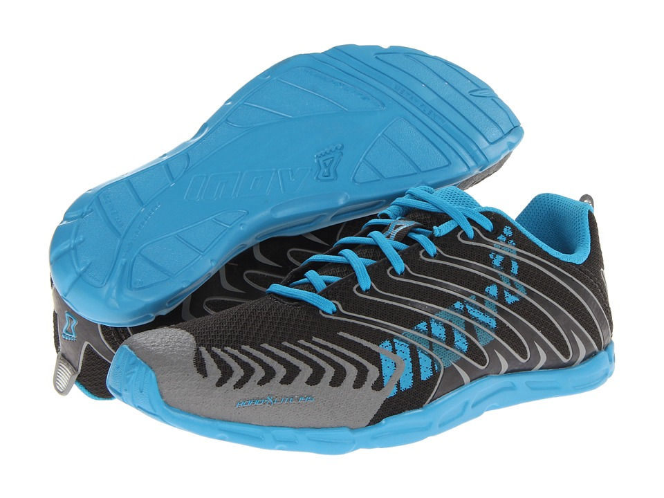 inov-8 - Road-X Lite 145 (Raven/Blue) Women's Running Shoes