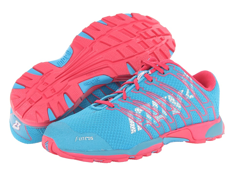 inov-8 - F-Lite 215 (Blue/Pink) Women's Shoes