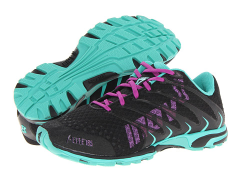 inov-8 - F-Lite 185 (Black/Atlantis) Women's Running Shoes