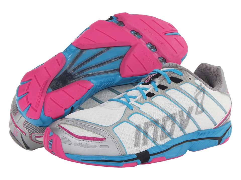 inov-8 - Road-X 238 (White/Blue/Pink) Women's Running Shoes