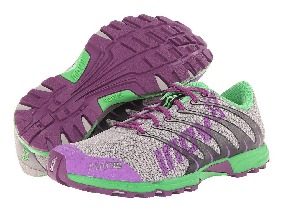 inov-8 - F-Lite 239 (Grey/Purple/Green) Women