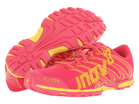 inov-8 - F-Lite 219 (Pink/Yellow) Women