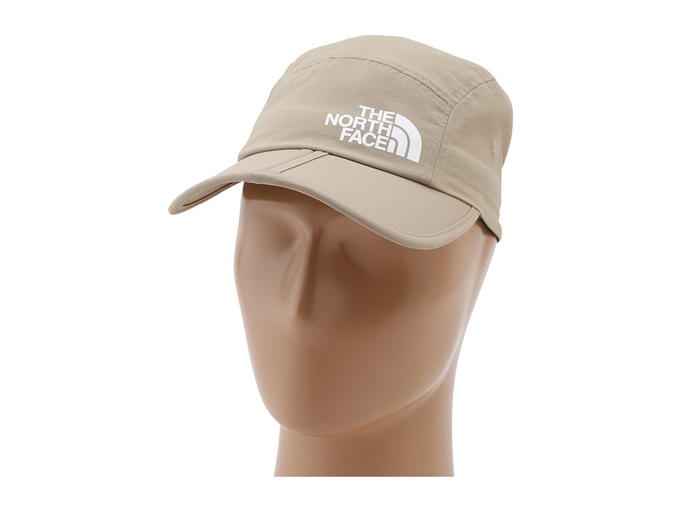 The North Face - Horizon Folding Bill Cap (Dune Beige/TNF White) Caps