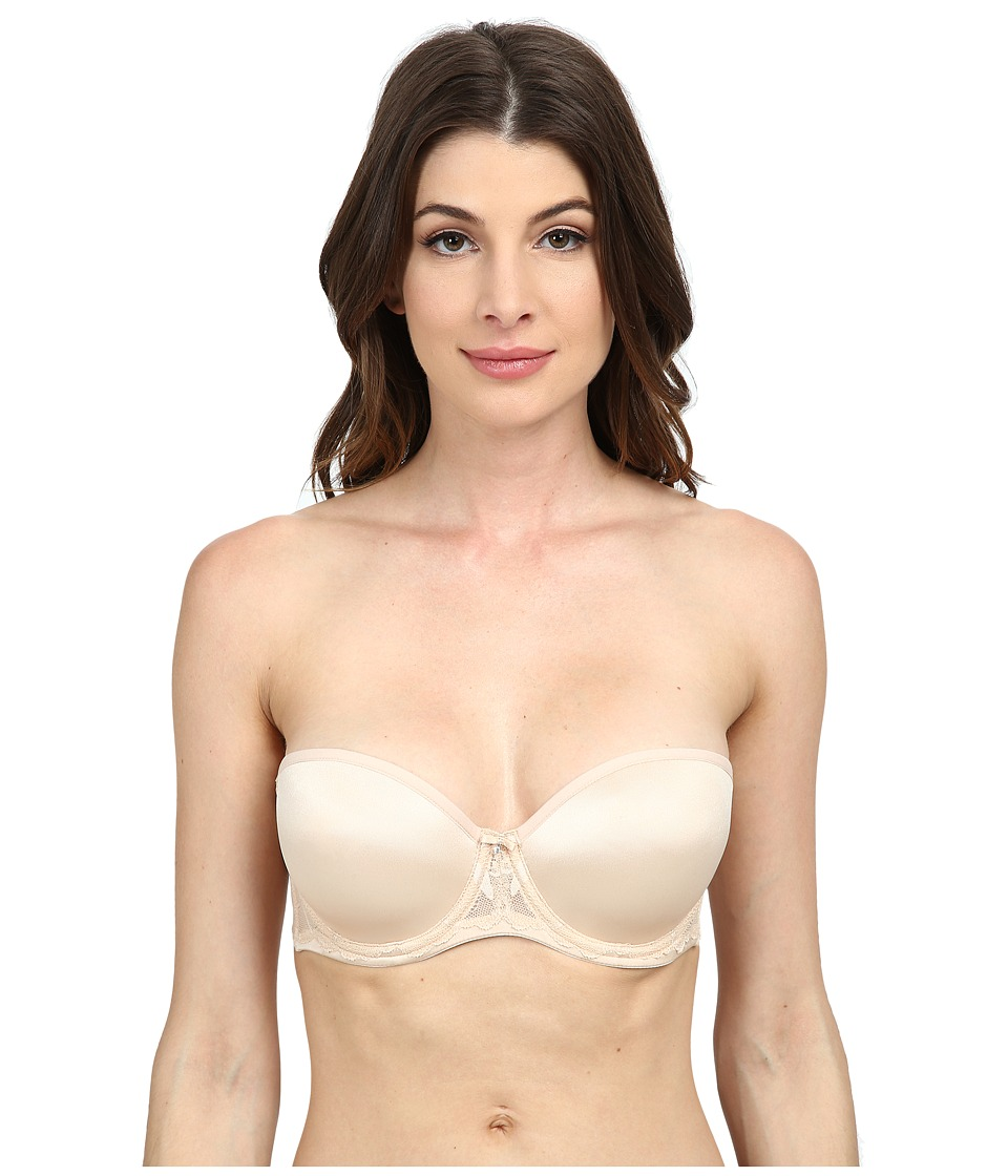 Le Mystere - Sensuelle Strapless Bra 2855 (Almond) Women's Bra plus size,  plus size fashion plus size appare
