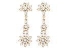 Nina Zenith Earrings (Gold/Crystal)
