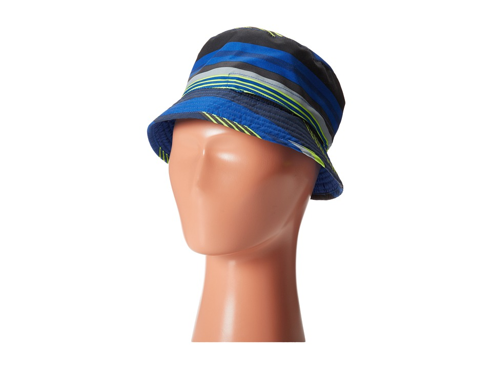The North Face Kids - Youth Sun Stash Hat (Honor Blue Stripe (Honor Blue)) Caps