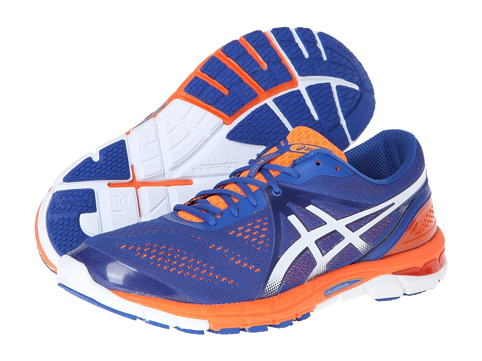 ASICS - Gel-Excel33 3 (Royal/White/Flash Orange) Men