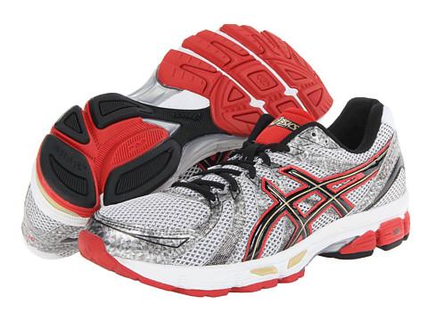 ASICS - GEL-Exalt (White/Black/Red) Men's Running Shoes