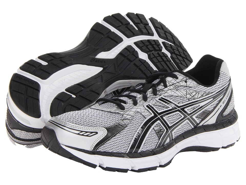 ASICS - GEL-Excite 2 (White/Black/Silver) Men's Running Shoes