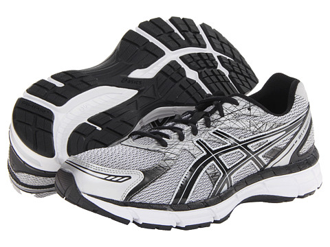 ASICS - GEL-Excite 2 (White/Black/Silver) Men