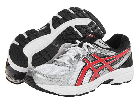 ASICS - GEL-Contend 2 (White/Red/Black) Men