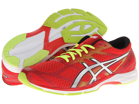 ASICS - GEL-DS Racer 10 (Red/Lightning/Flash Yellow) Men's Running Shoes