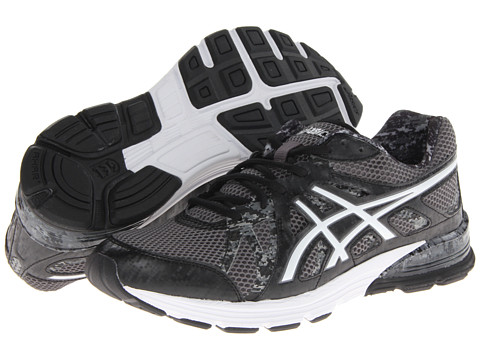 ASICS - GEL-Preleus (Black/White/Storm) Men's Running Shoes