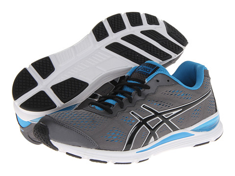 ASICS - GEL-Storm 2 (Granite/Black/Malibu) Men's Running Shoes