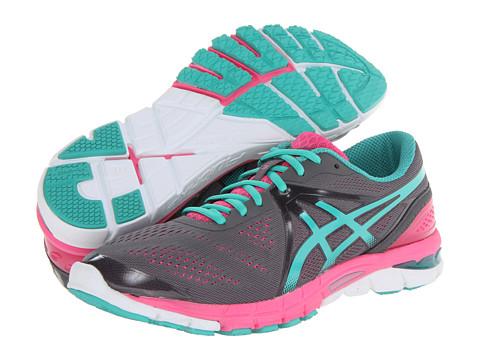 ASICS - GEL-Excel33 3 (Charcoal/Emerald/Hot Pink) Women's Running Shoes