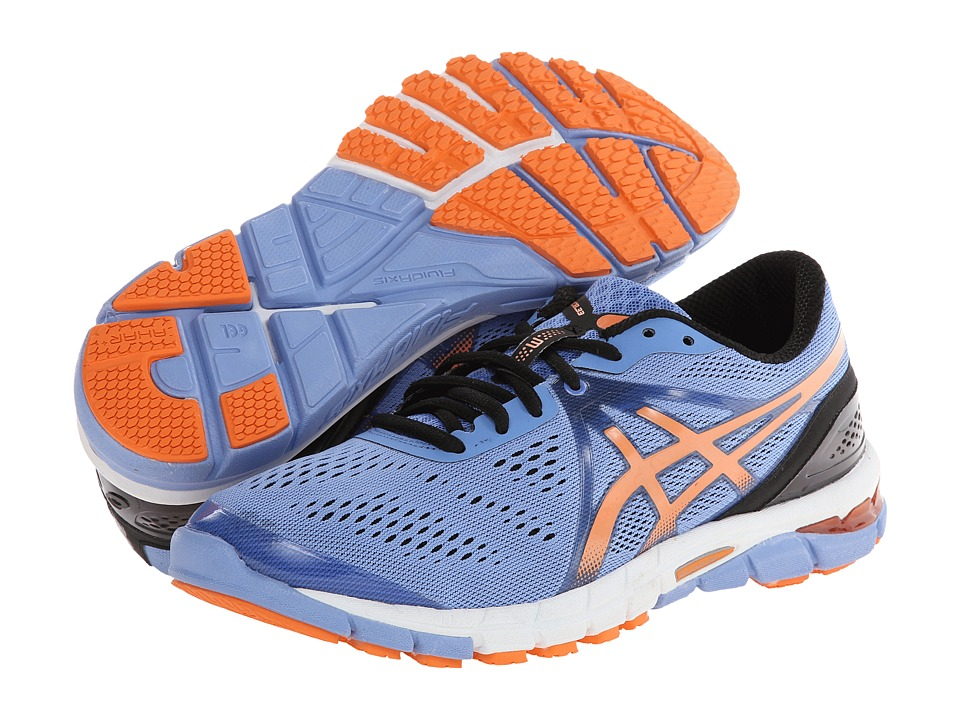 ASICS - GEL-Excel33 3 (Capri Blue/Orange/Black) Women