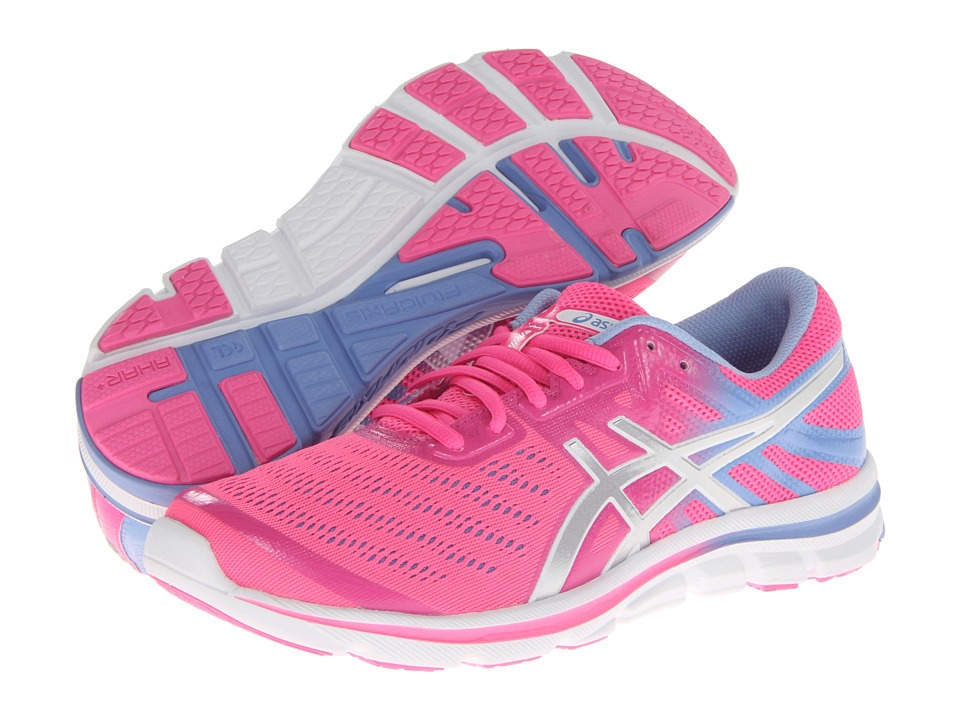 ASICS - GEL-Electro33 (Flash Pink/Silver/Lavender) Women's Running Shoes