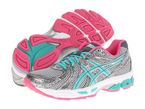ASICS GEL-Exalt (Lightning/Emerald/Hot Pink) Women's Running Shoes