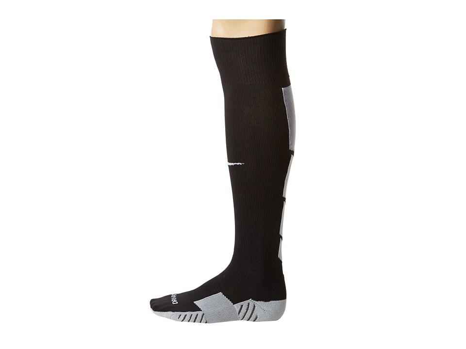 Nike - Stadium Soccer Over The Calf (Black/Wolf Grey/White/White) Knee High Socks Shoes