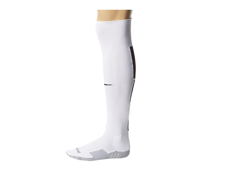 Nike - Stadium Soccer Over The Calf (White/Wolf Grey/Black/Black) Knee High Socks Shoes