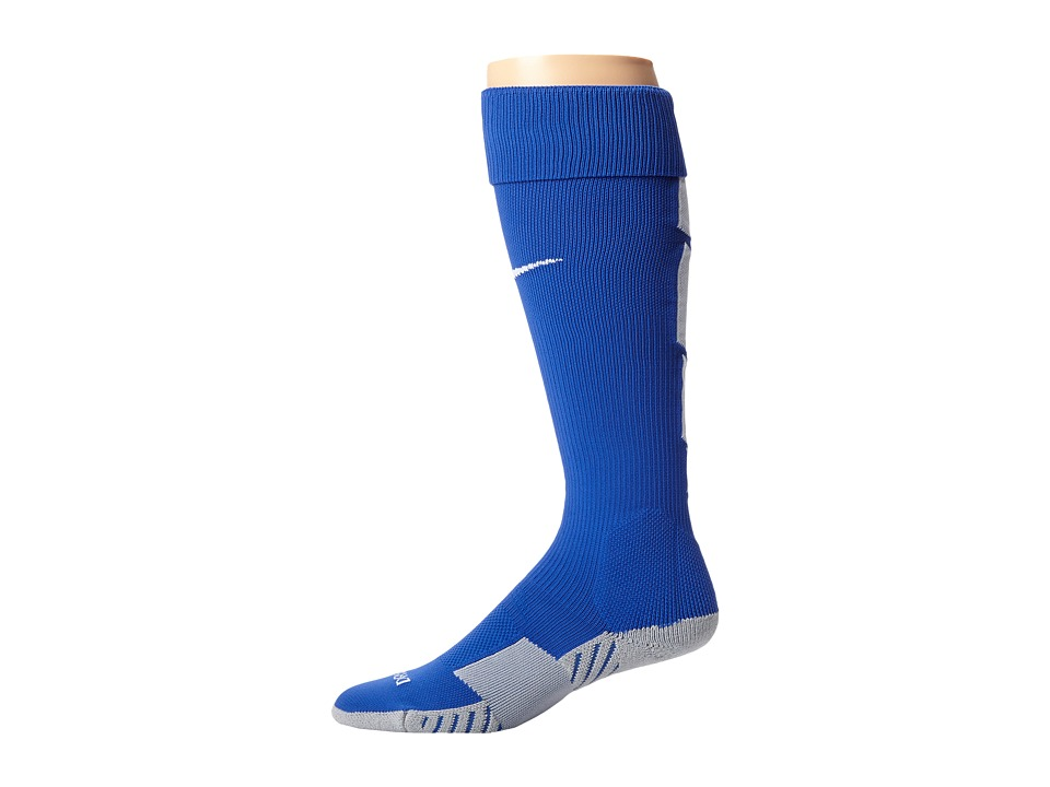 Nike - Stadium Soccer Over The Calf (Game Royal/Wolf Grey/White/White) Knee High Socks Shoes