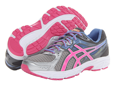ASICS - GEL-Contend 2 (Lightning/Hot Pink/Periwinkle Blue) Women