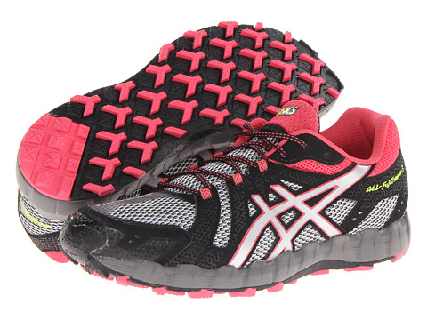 ASICS - GEL-FujiTrainer 3 (Aluminum/Lightning/Rogue) Women's Running Shoes