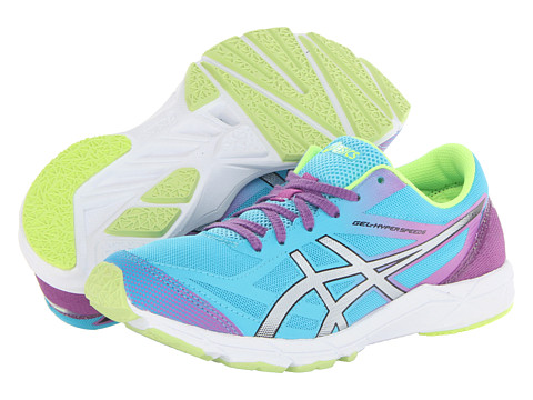 ASICS - GEL-Hyper Speed 6 (Turquoise/Lightning/Purple) Women's Running Shoes