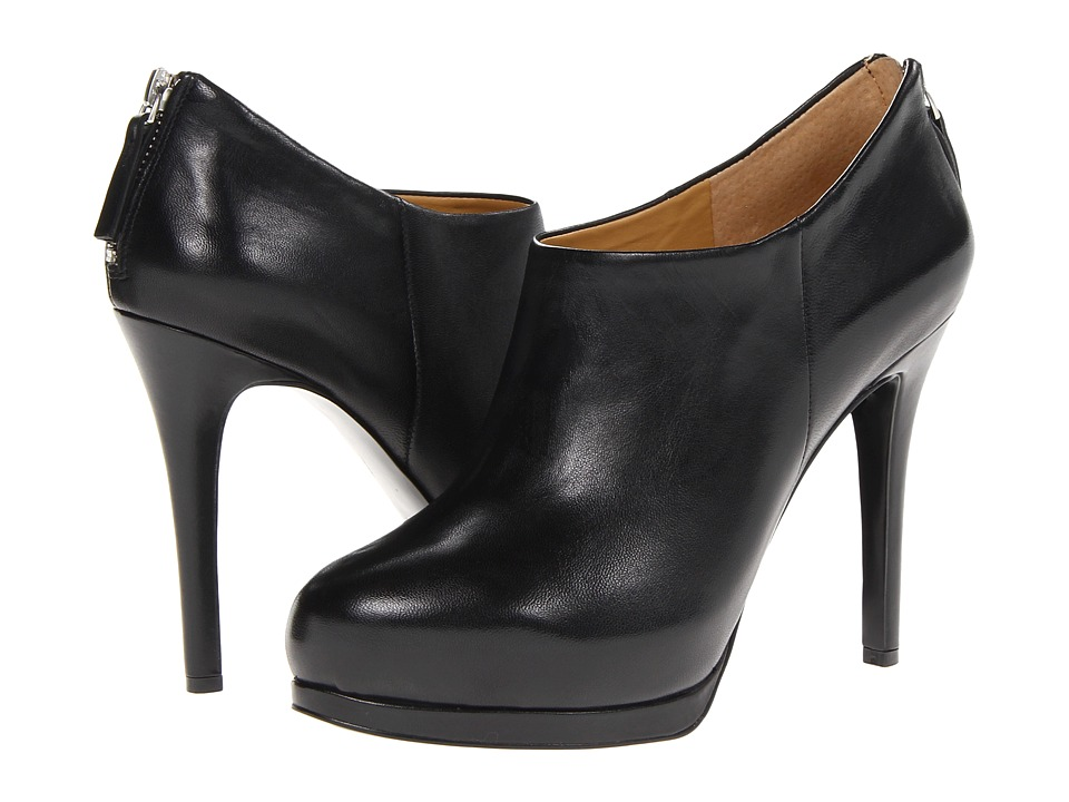 Nine West - Haywire (Black Leather) Women