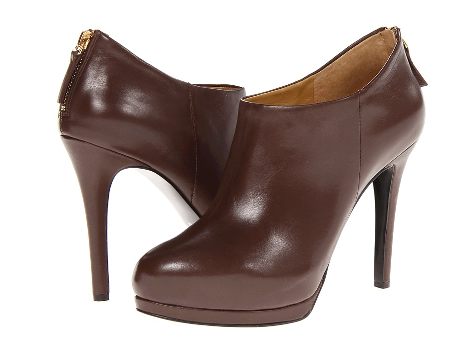 Nine West - Haywire (Dark Brown Leather) Women