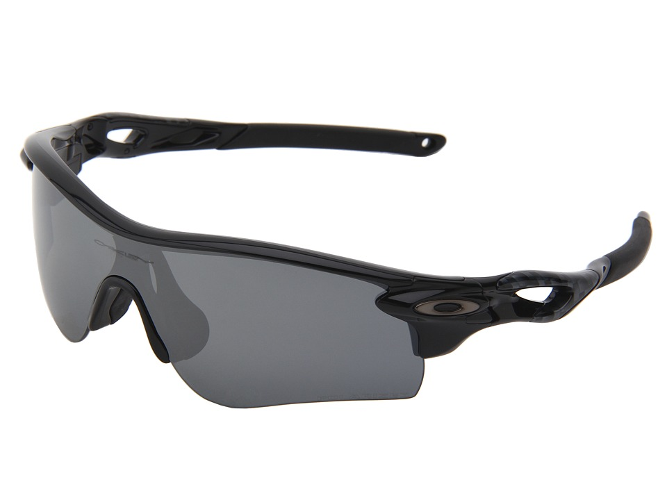 Oakley - Radarlock Path (Polished Black w/Black Iridium Polarized) Sport Sunglasses