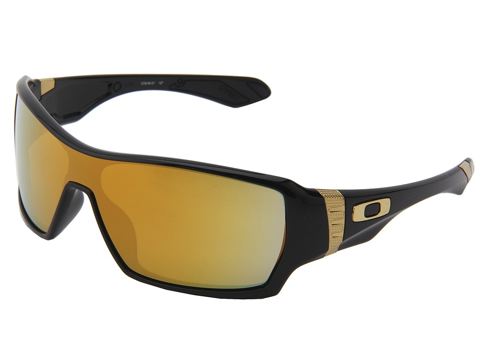 Oakley - Offshoot (Shaun White Gold Series Polished Black w/24K) Sport Sunglasses