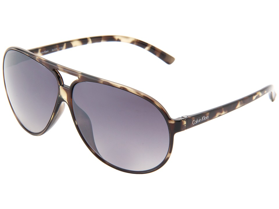 Calvin Klein - CWR652S (Black Tortoise) Fashion Sunglasses