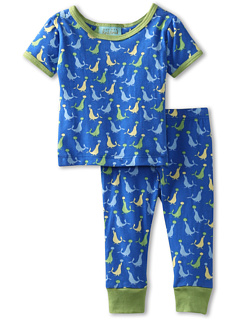 SALE! $14.99 - Save $29 on BedHead Kids Boys` Short Sleeve Snug PJ Set (Infant) (Blue Seals) Apparel - 65.93% OFF $44.00
