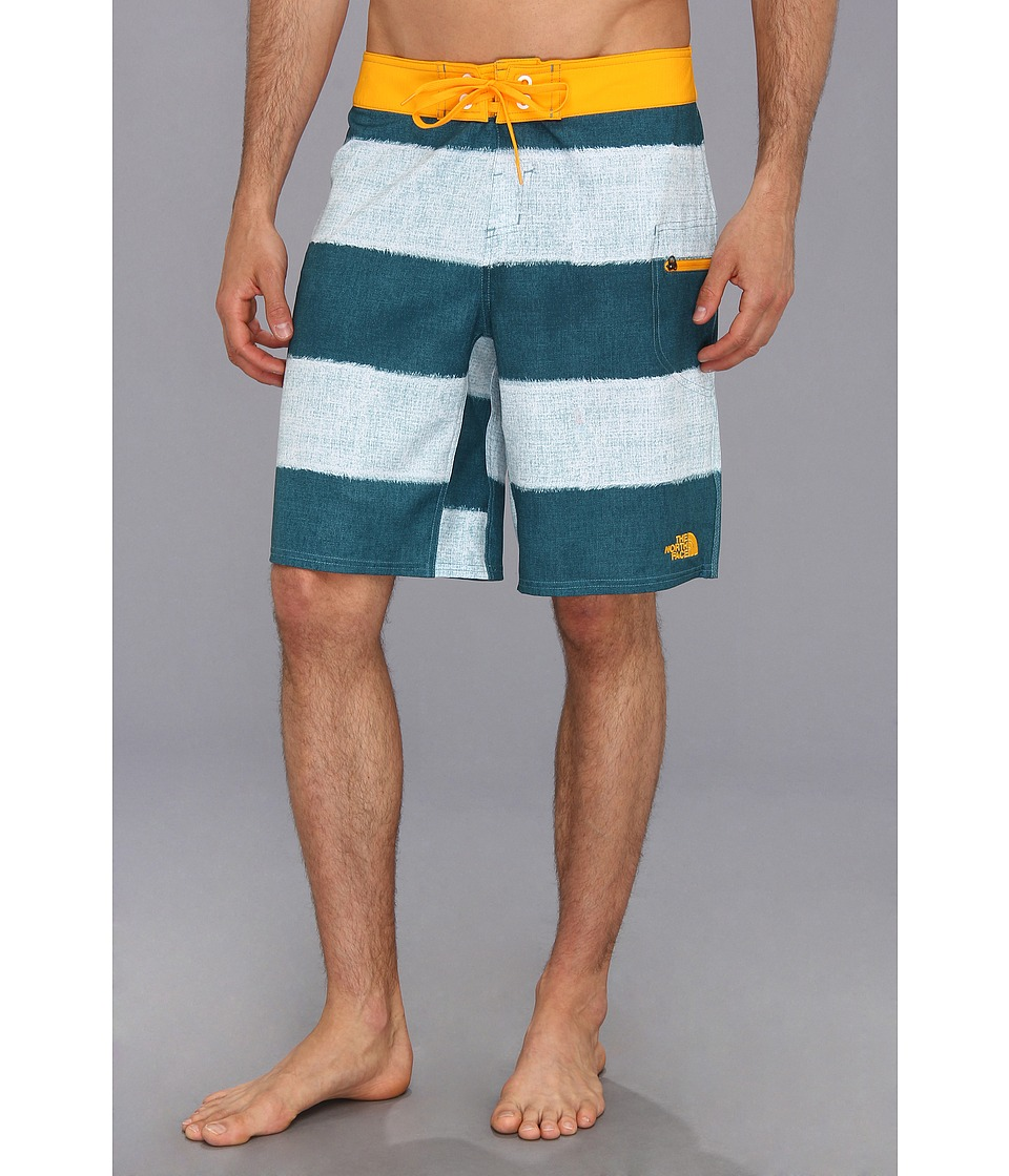 The North Face - Olas Boardshort (Storm Blue Stripe) Men's Swimwear